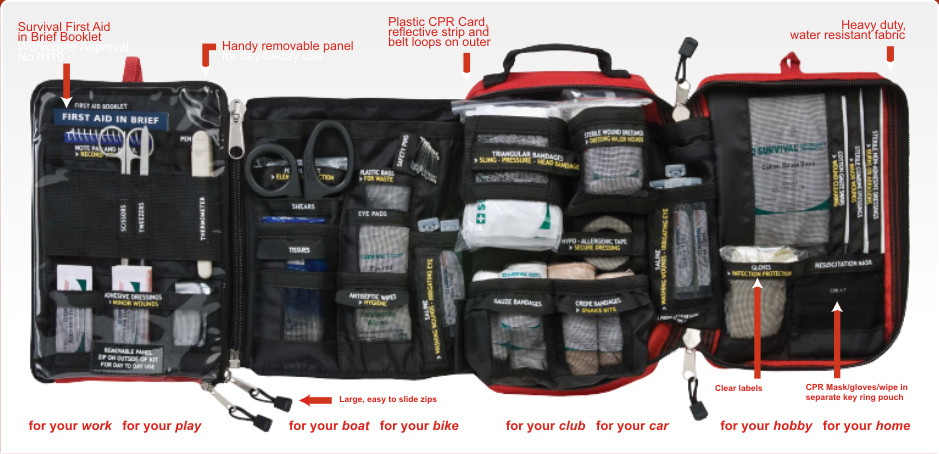 Emergency first aid kits for sale
